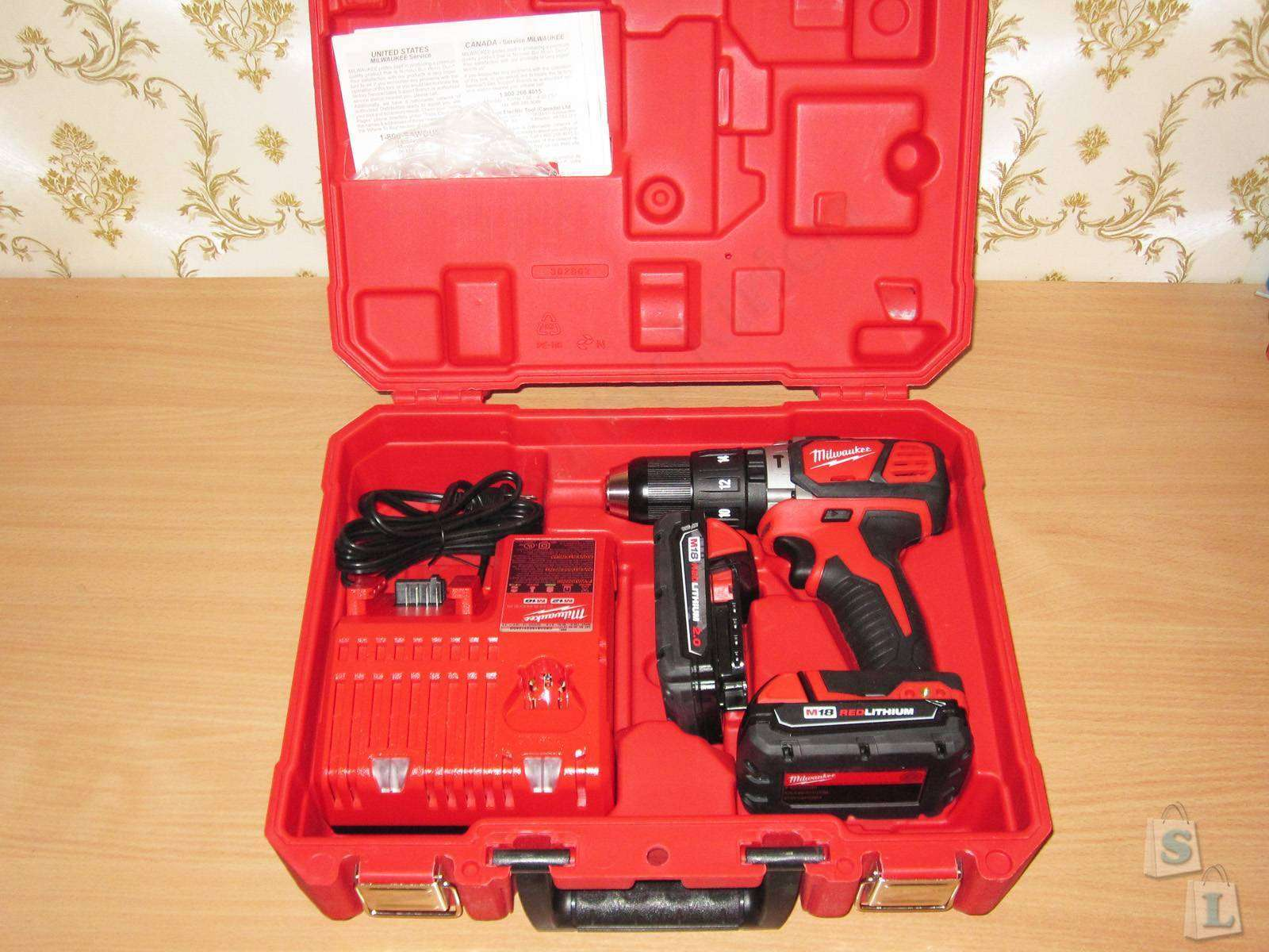 Amazon: Milwaukee Electric Tool 2607-22CT M18 Hammer Drill Kit