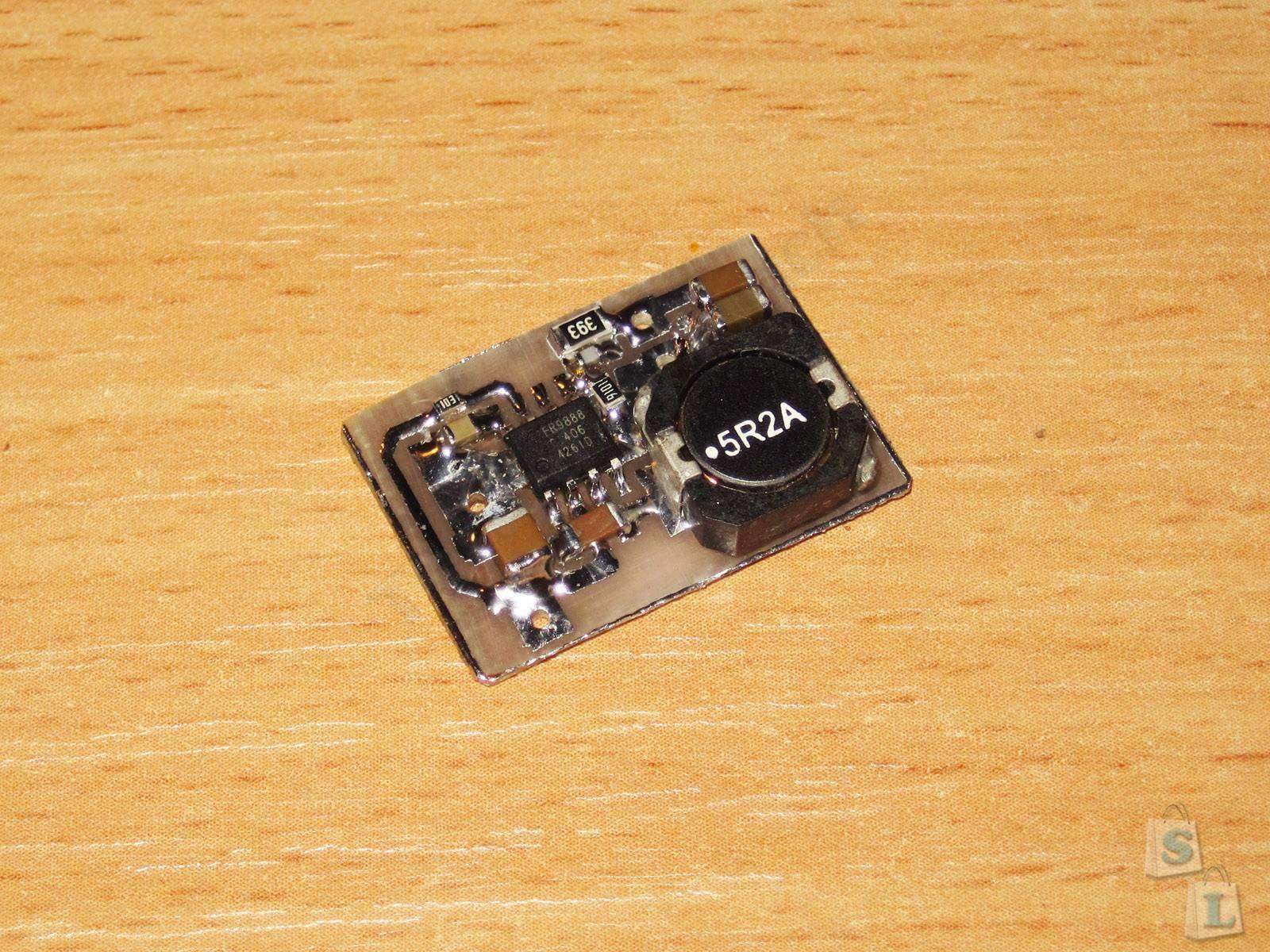 Aliexpress: FR9888 или микросхема синхронного StepDown преобразователя