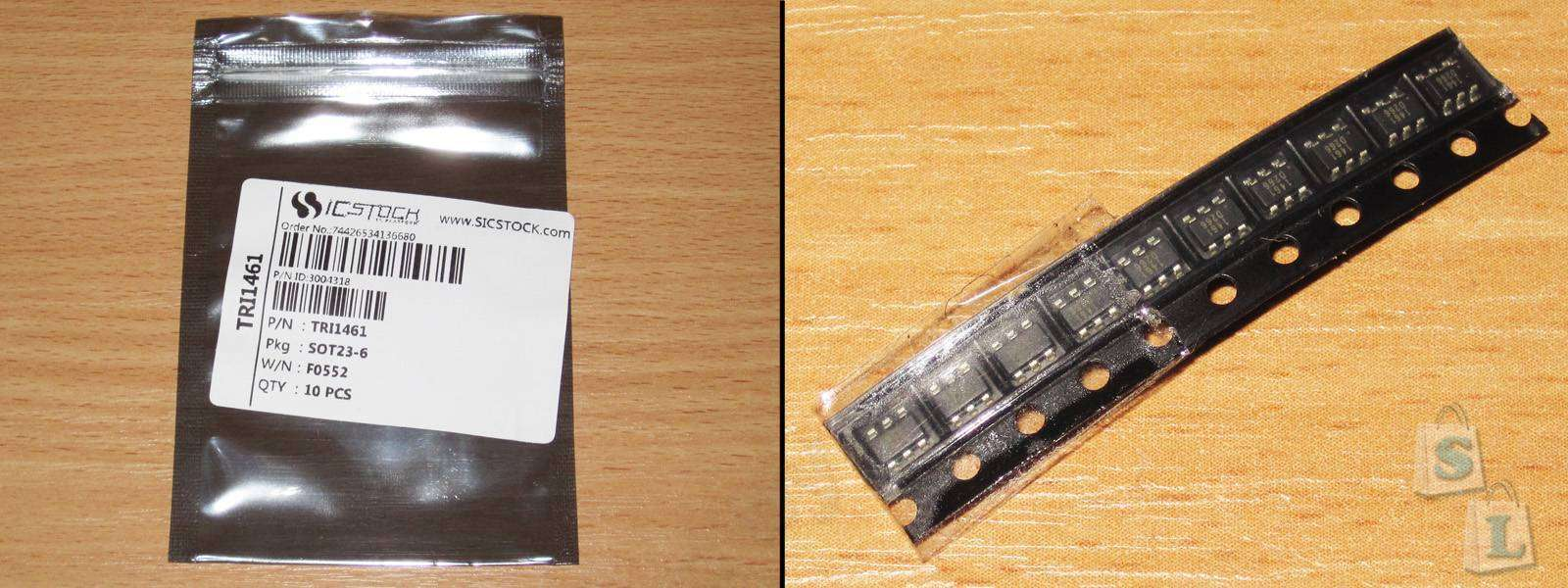 Aliexpress: TRI1461, еще одна мелкая микросхема для построения DC-DC преобразователя
