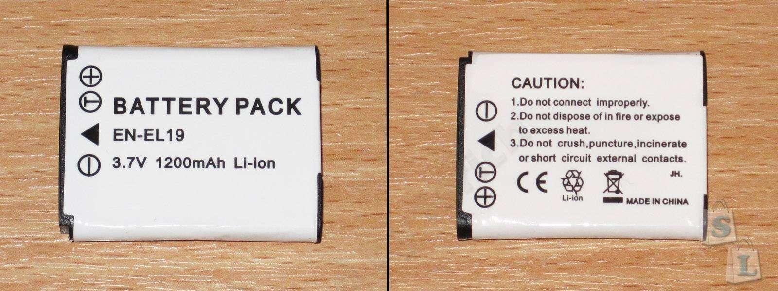 Aliexpress: Несколько разных, но при этом одинаковых, аккумуляторов для фотоаппаратов
