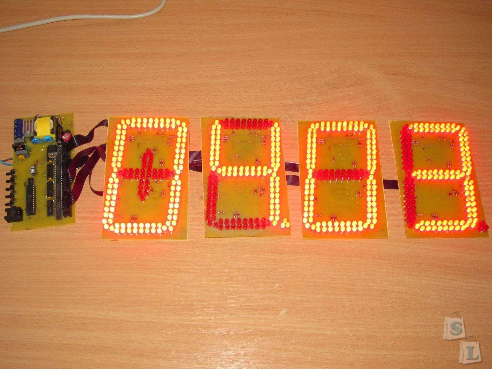 Aliexpress: Светодиодная RGB панель или мое первое знакомство с 'бегущей строкой'