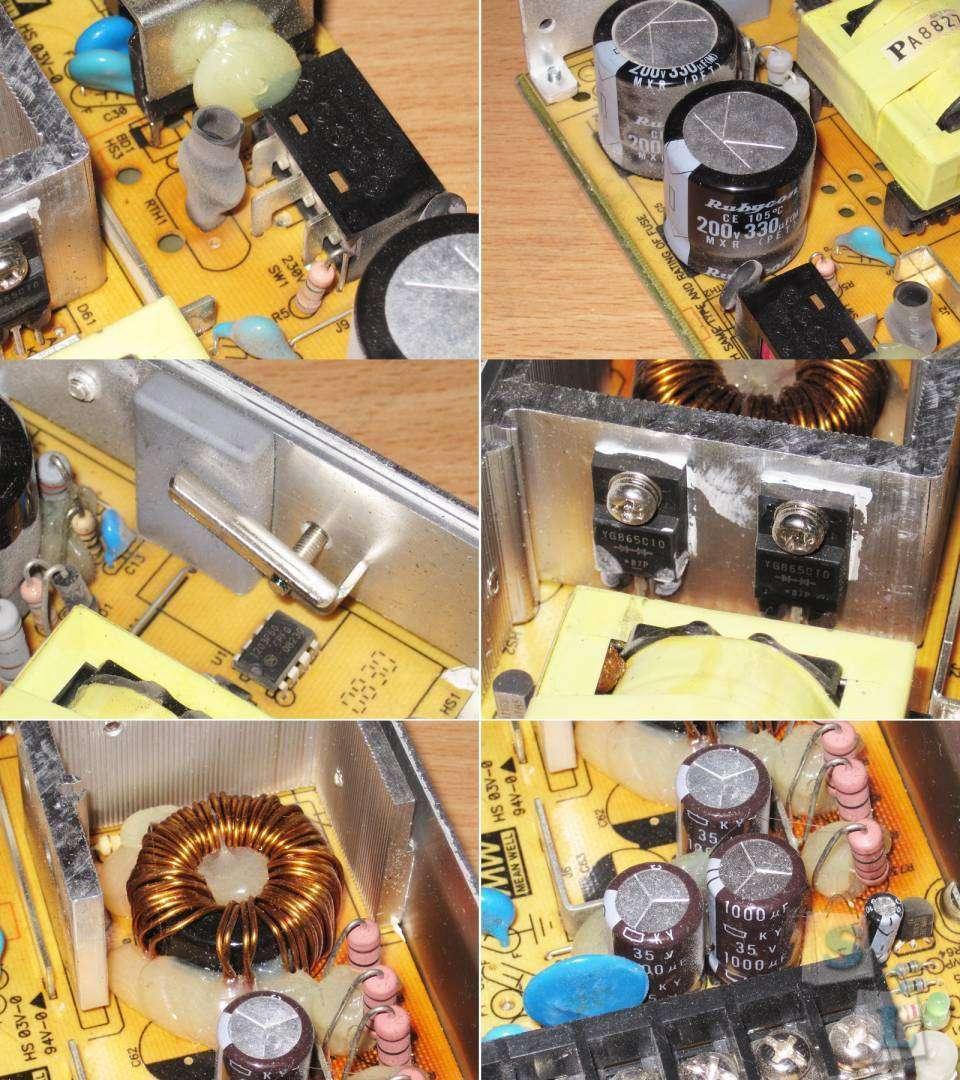 схема блоков индикации выходной мощности радиостанций