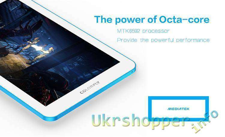 Aliexpress: Акция для COLORFLY G708 MTK6592 Octa Core с 3G ТЕЛЕФОНОМ за us.90