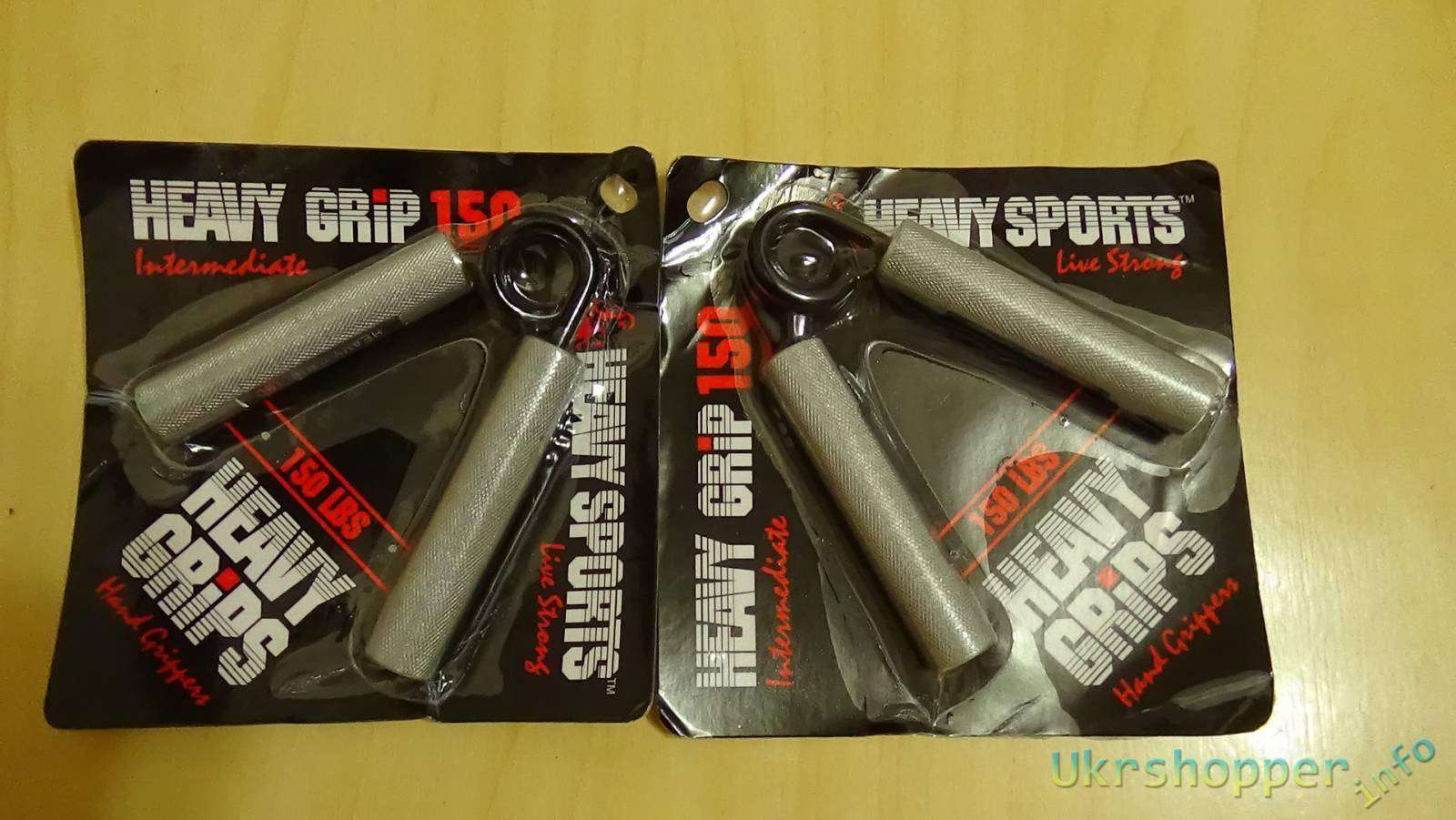 Aliexpress: эспандер Heavy Grips 150lbs- для новичка. Ага... щас!