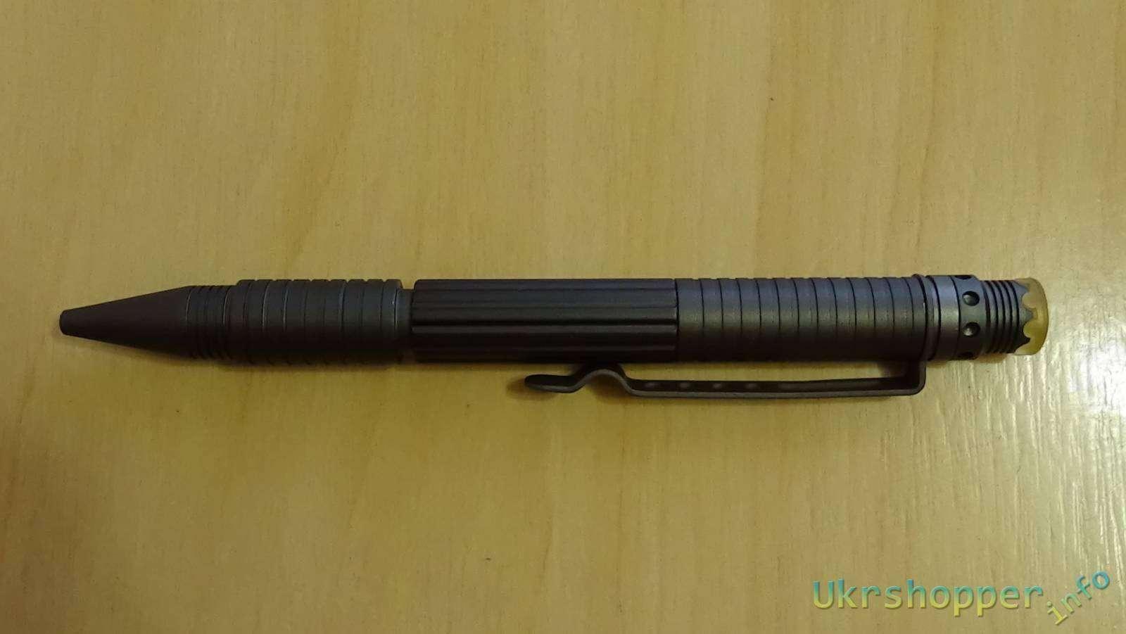 Ebay: Обзор тактической ручки Uzi