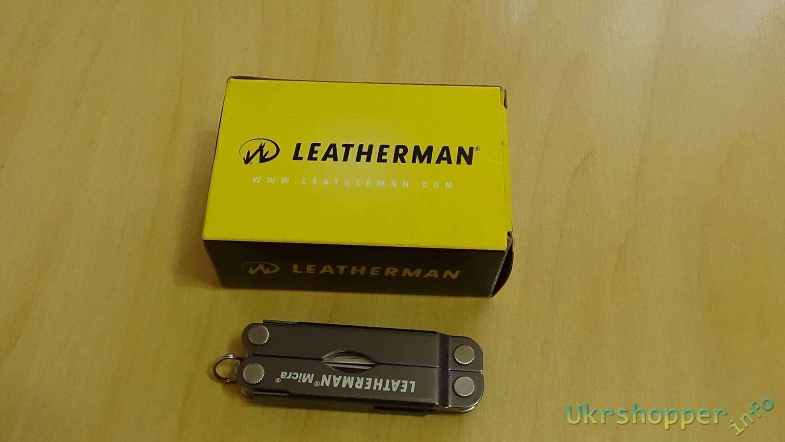 Ebay: Обзор мультитула Leatherman Micra