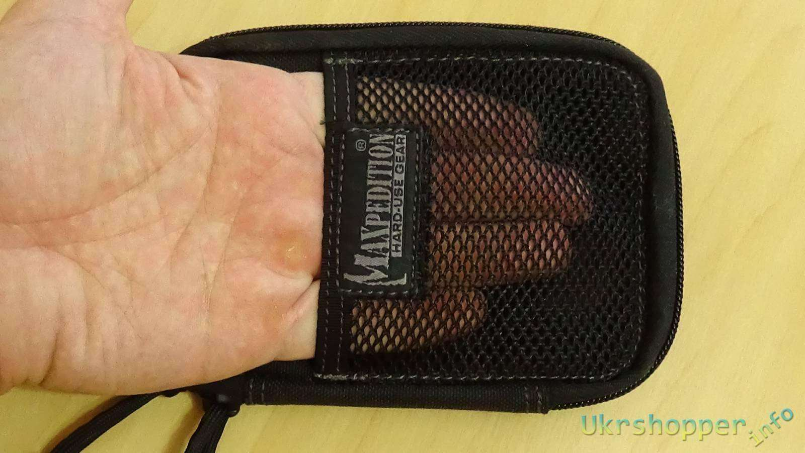 Ebay: обзор Mini Pocket Organizer от Maxpedition