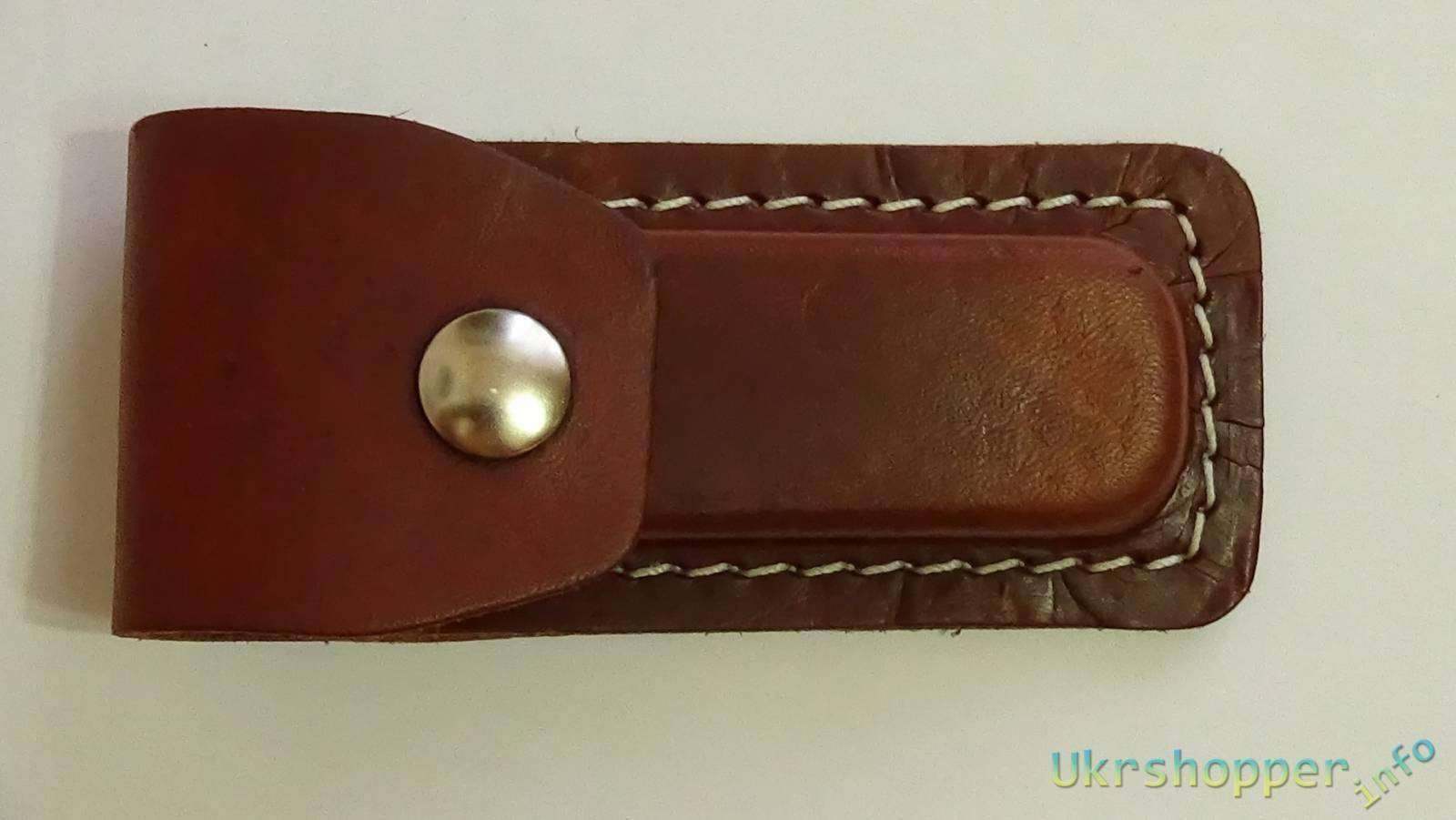 Ebay: Кожаный чехол для ношения мелких ножей на ремне