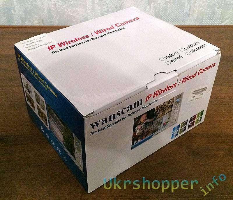 EachBuyer: Домашняя беспроводная IP-камера WANSCAM JW0004 с функцией Pan-Tilt