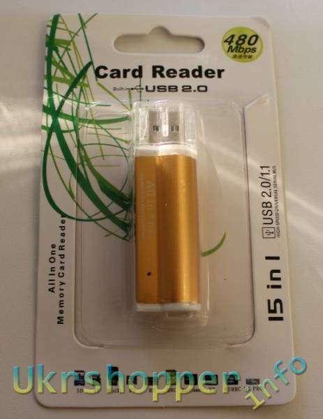 TinyDeal: Компактный картридер