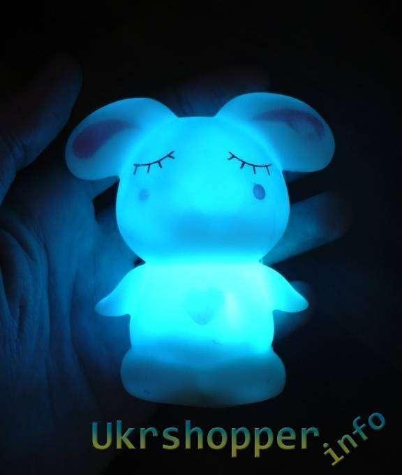 TinyDeal: Светильник зайчик