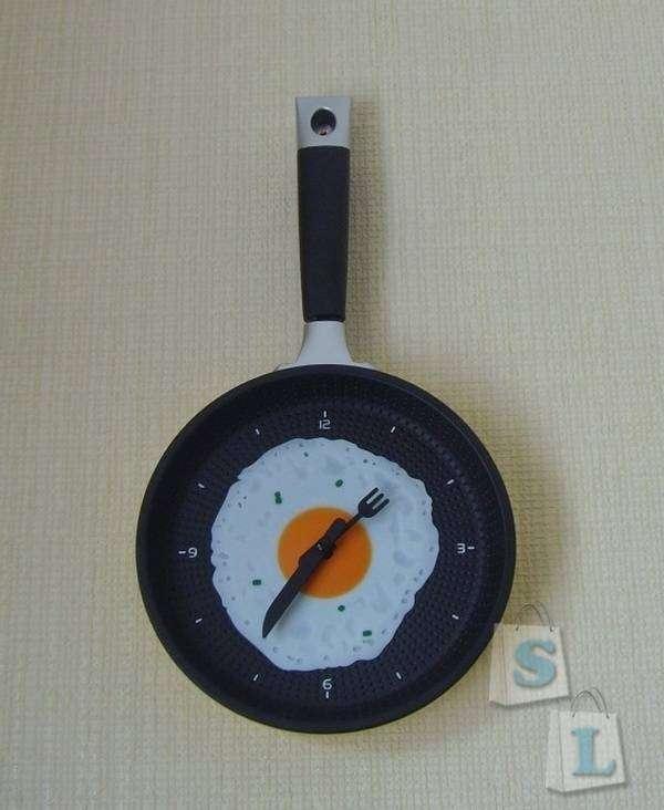GearBest: Настенные часы-сковородка