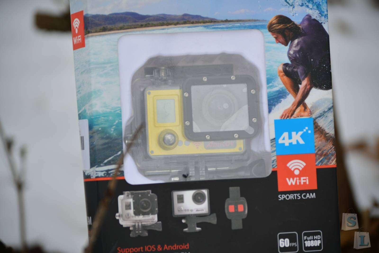GearBest: Приятный ШОК от экшн камеры Amkov Amk7000s