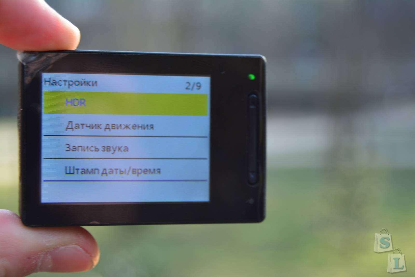 GearBest: Отличная,бюджетная экшн камера за