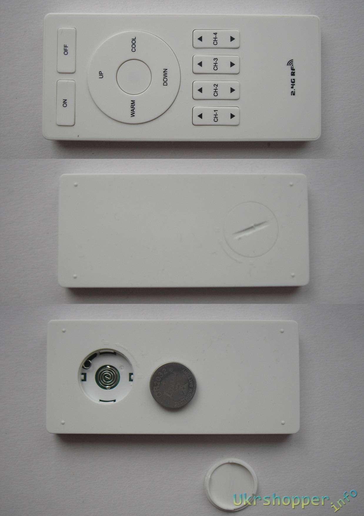 GearBest: Светодиодный (LED) светильник Mi-light с меняющимся световым спектром.