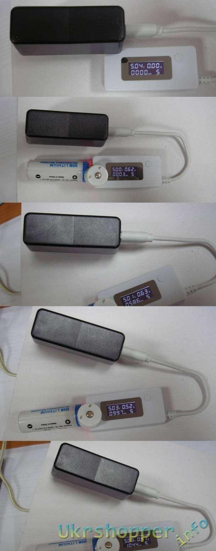 GearBest: Аккумулятор с USB-входом для зарядки.