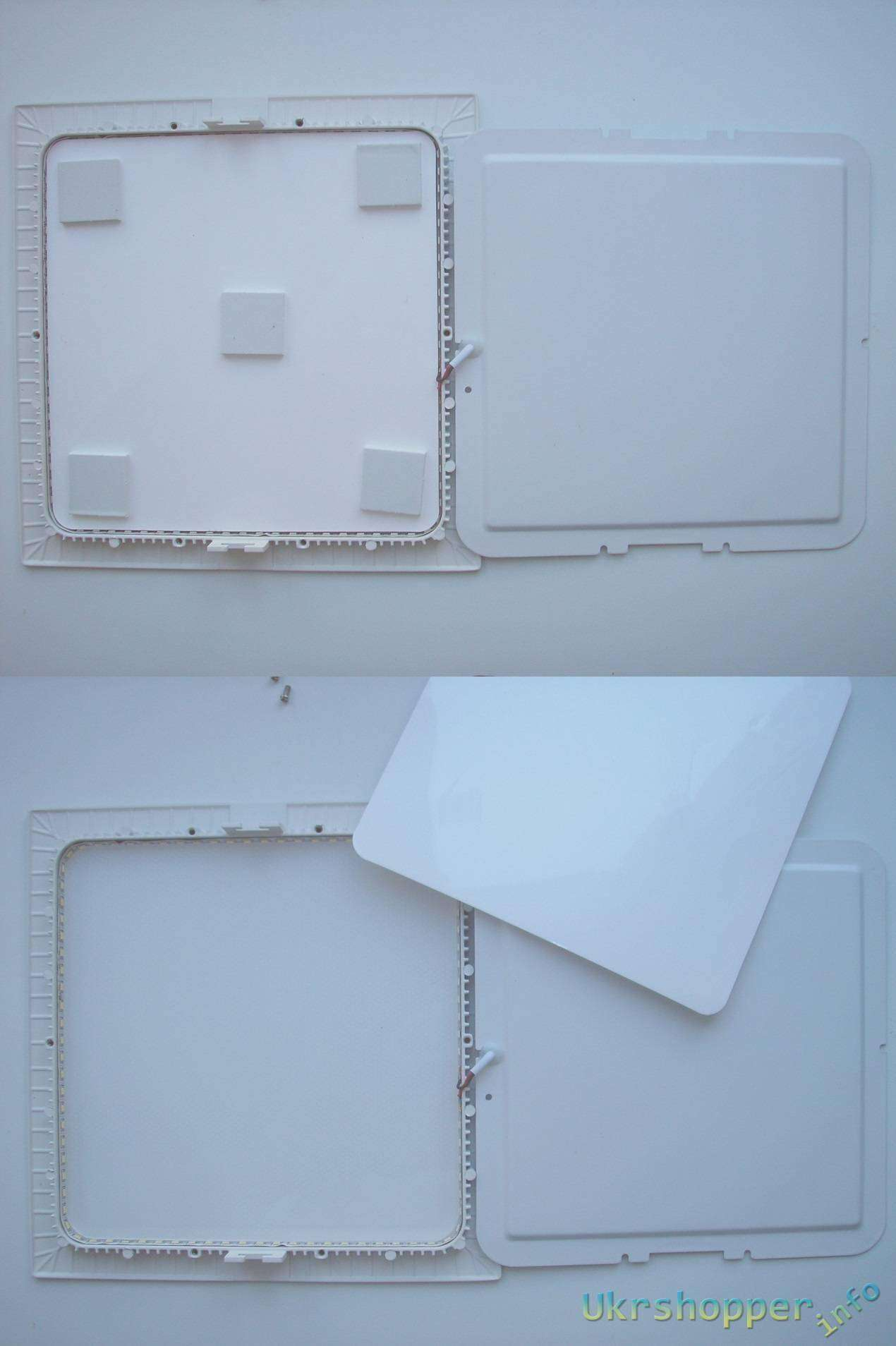 TomTop: Светодиодные панели квадрат