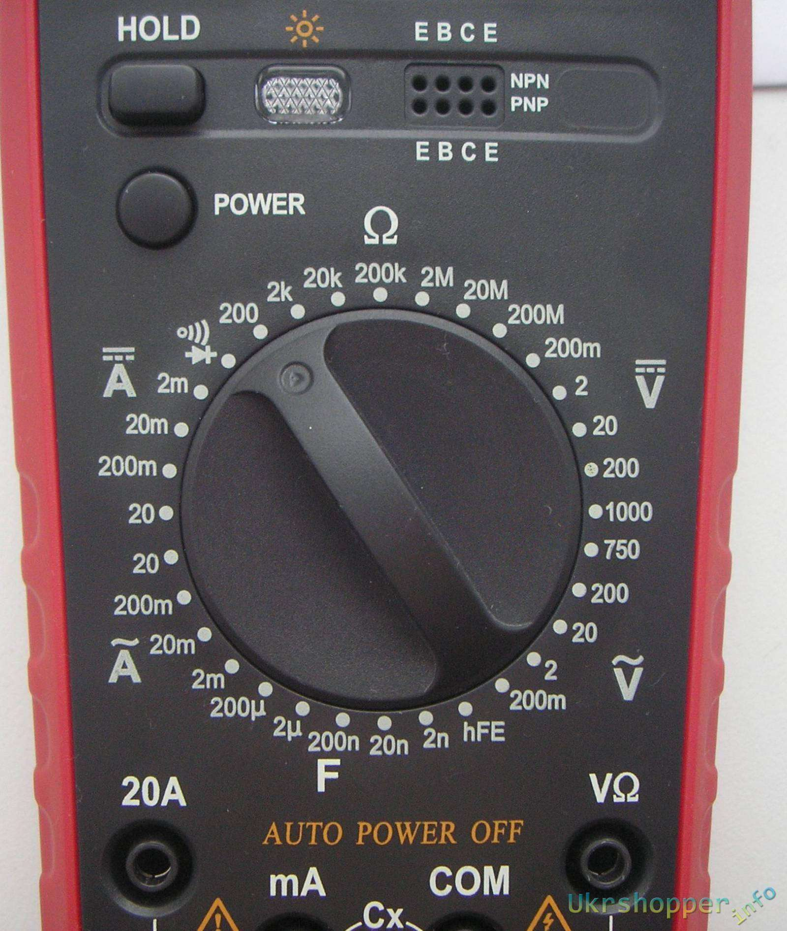 TomTop: FUYI FY9805 Digital Multimeter.