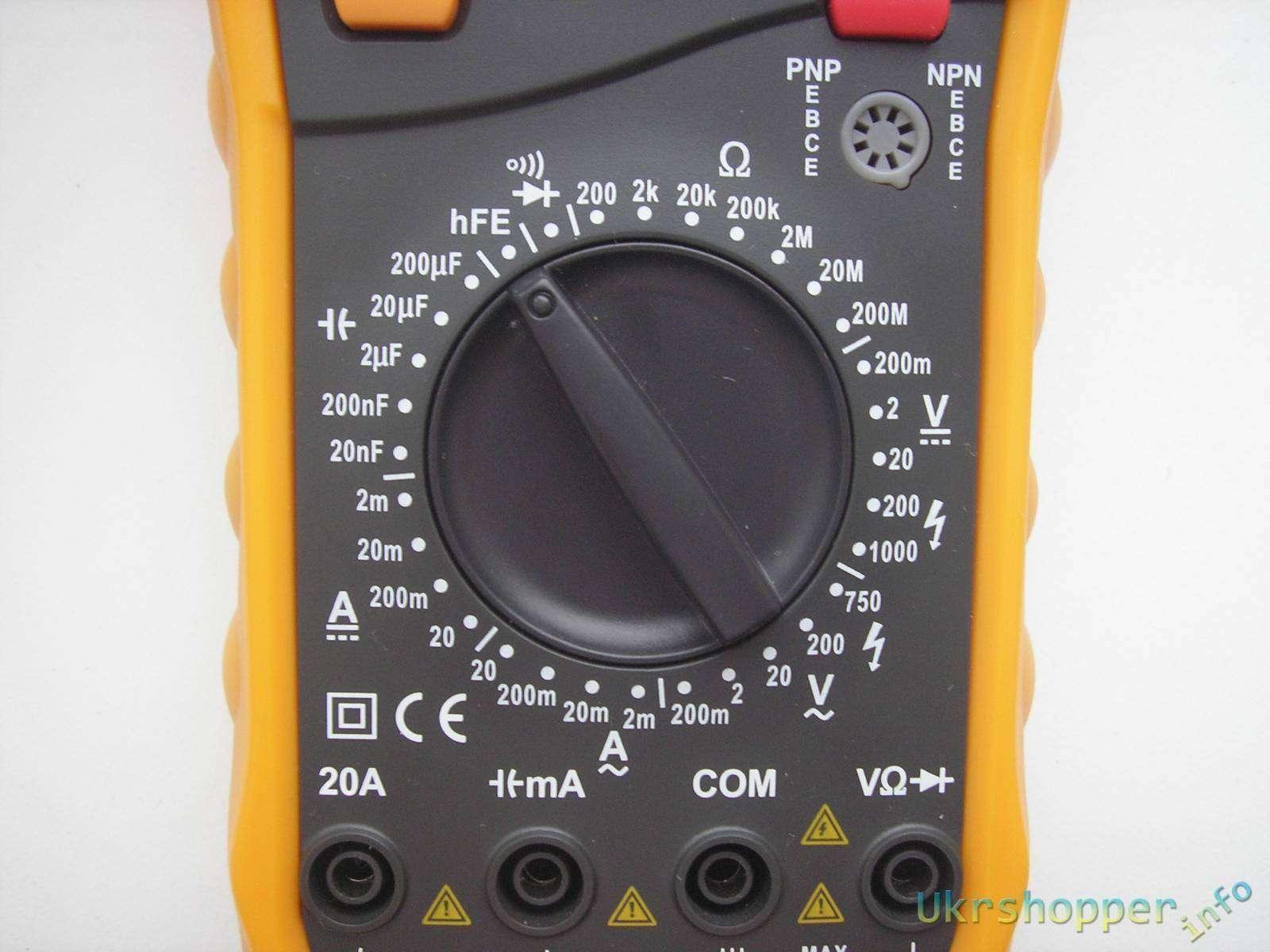 TomTop: HYELEC MY61  Digital Multimeter.