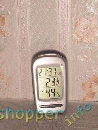 EachBuyer: LCD Digital Термометр, гигрометр, часы, будильник.