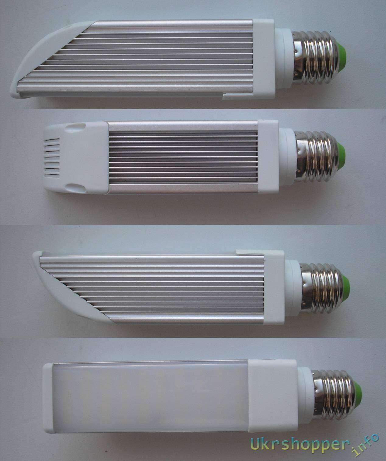 GearBest: Плоская кукуруза 10W (с пультом). E27 50 SMD2835 1200lm
