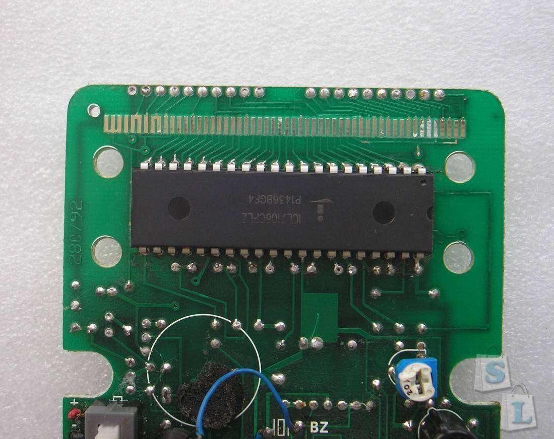 Aliexpress: Микросхема ICL7106 для мультиметров