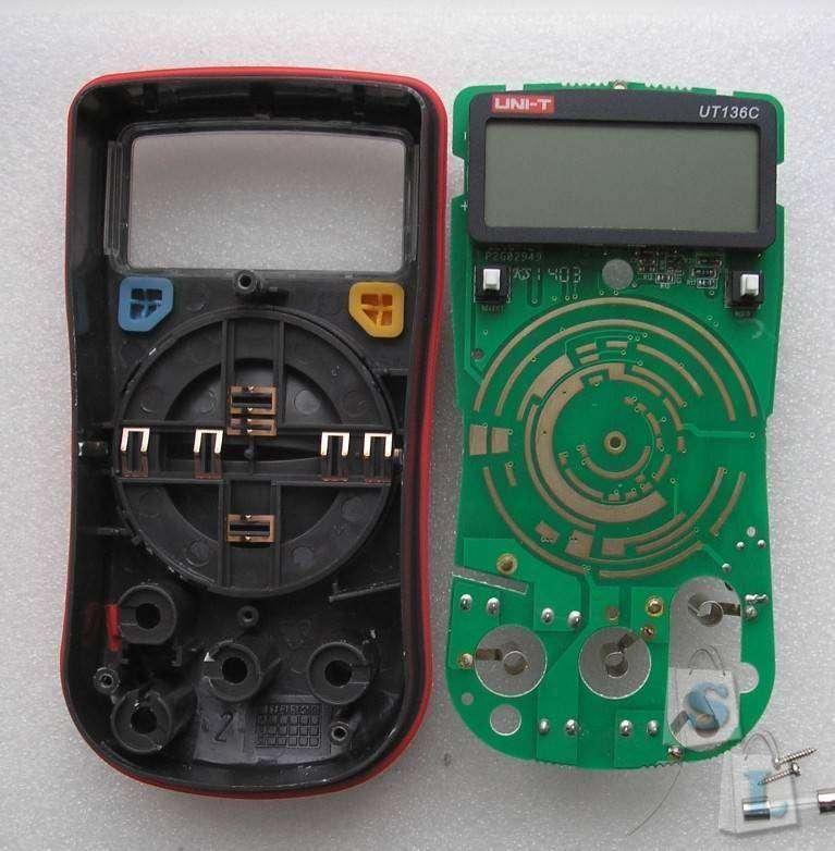 GearBest: Мультиметр UT136C (LCD Digital Multimeter)