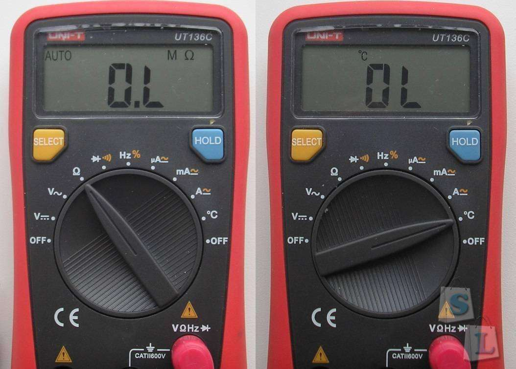 GearBest: Мультиметр UT136C (LCD Digital Multimeter)