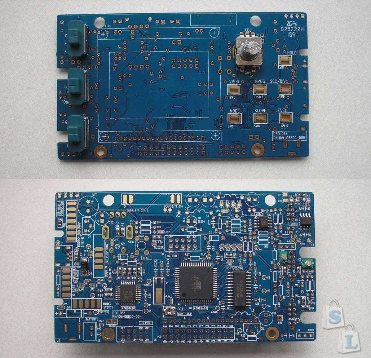 Banggood: DSO068 Осциллограф-частотомер – конструктор для начинающих