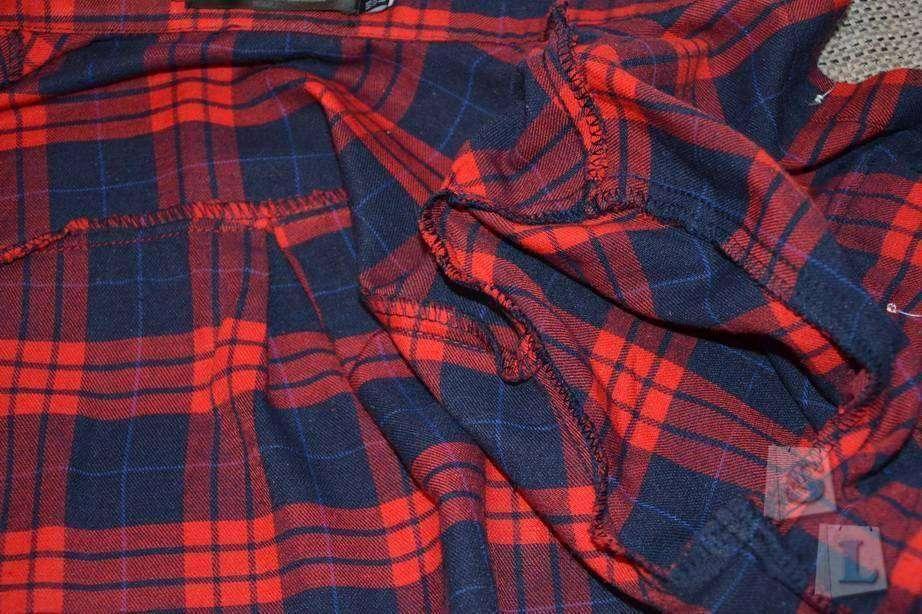 Banggood: Платье-рубашка в клетку