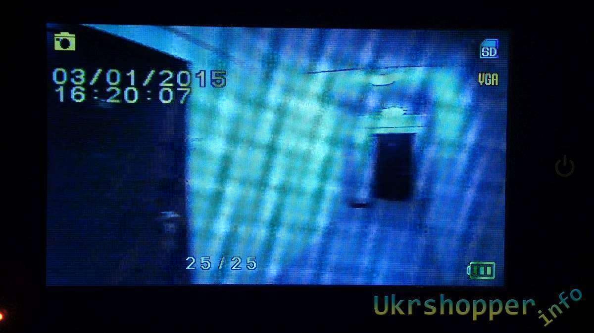 EachBuyer: Электронный дверной глазок-звонок Danmini YB43HD-M