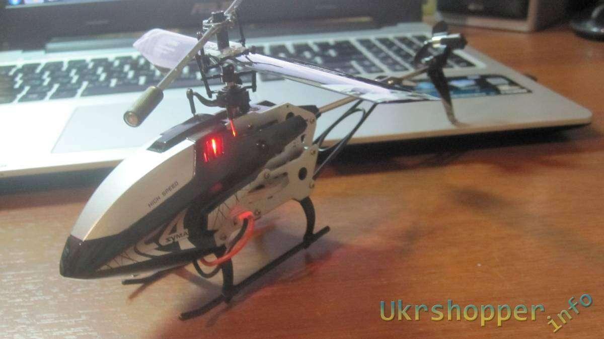 TomTop: Syma F4 3CH 2.4G Радиоуправляемый вертолёт с гироскопом