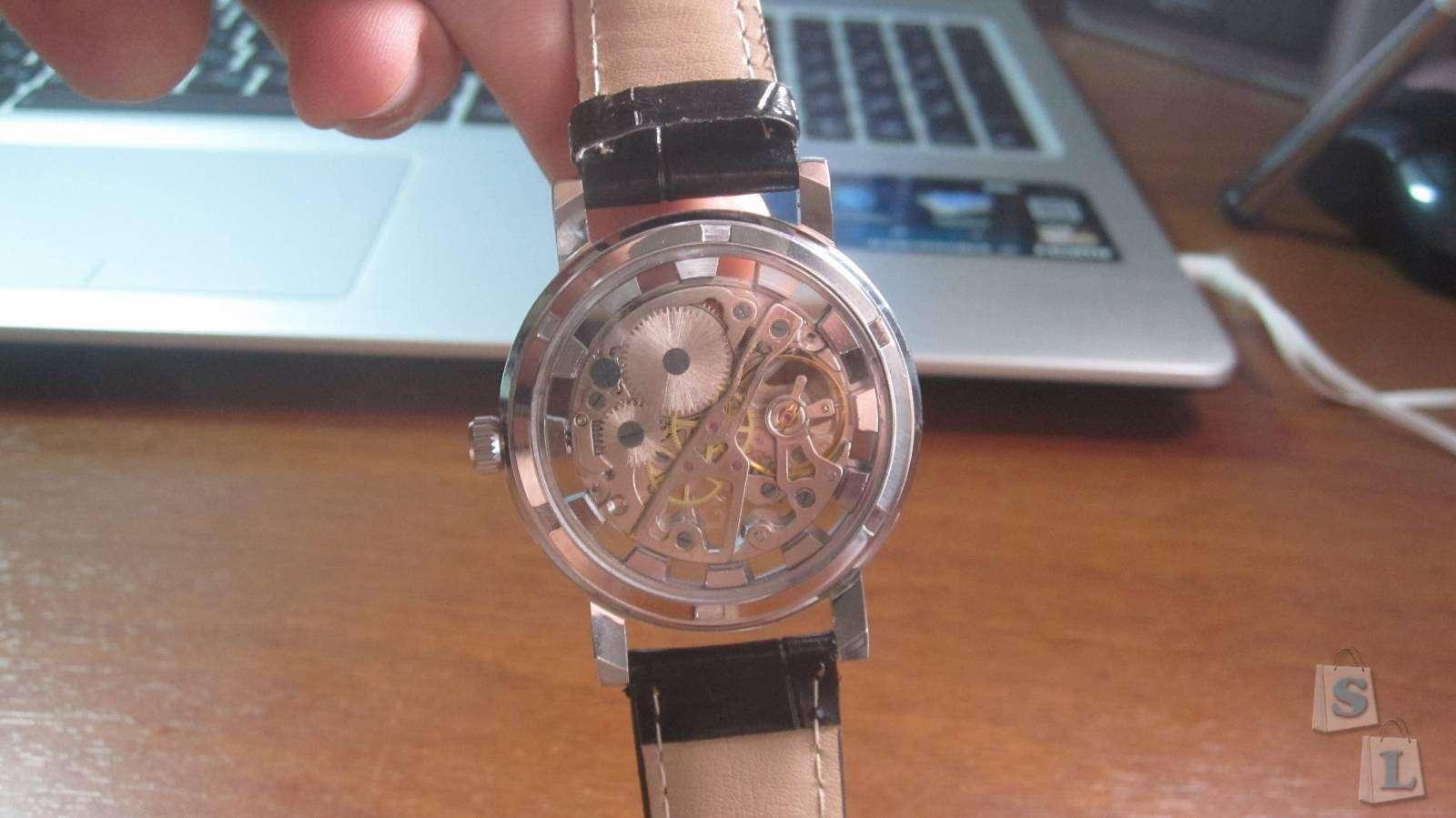TomTop: Обзор на Механических часы за 11 баксов