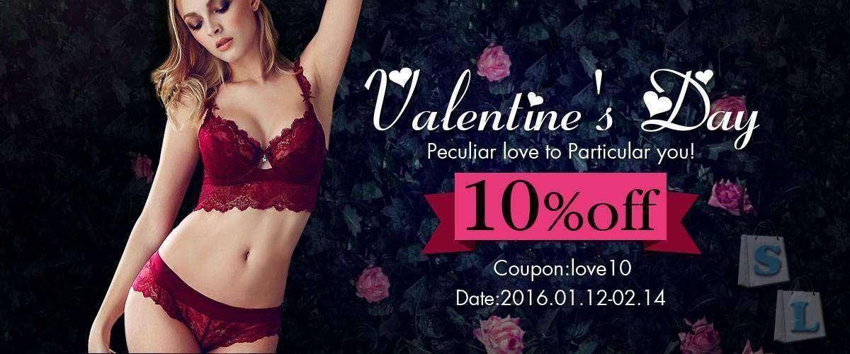 Banggood: Поздравления с днем Святого Валентина