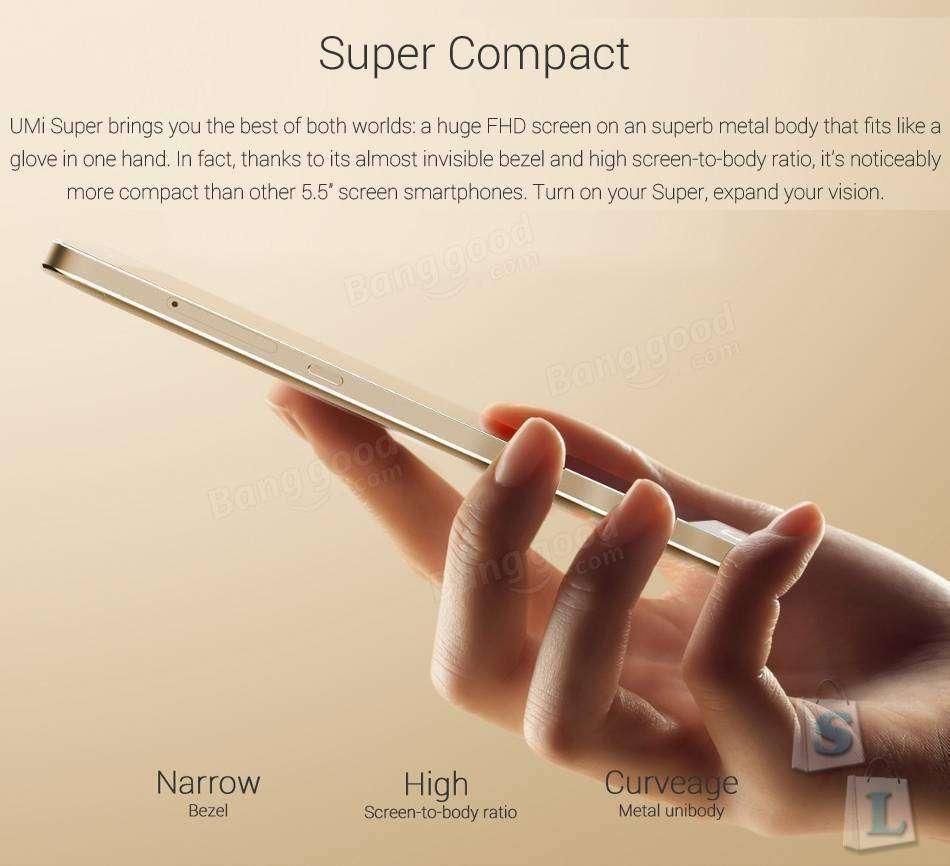 Banggood: Скидка 70$ на смартфон UMI Super