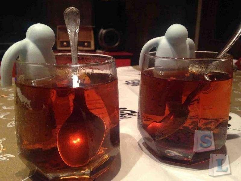 GearBest: Заварник для чая в форме прикольного чувачка
