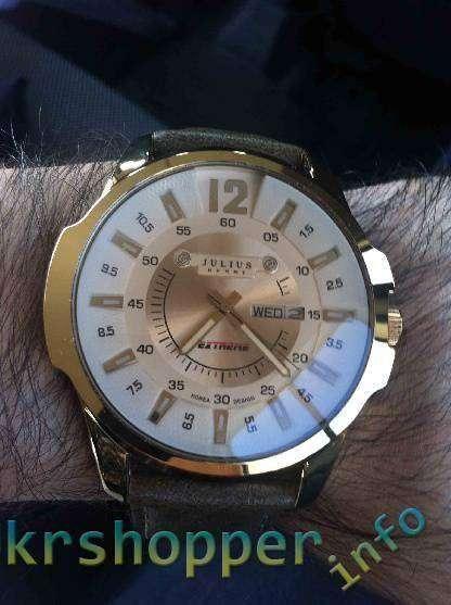 TinyDeal: Часы JULIUS