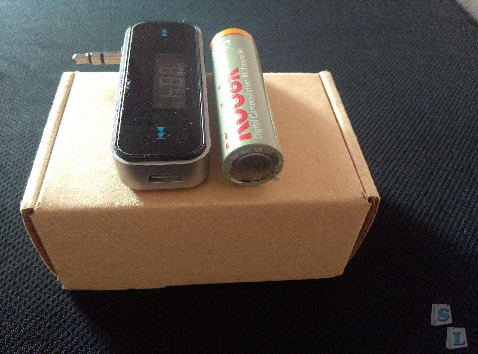 TinyDeal: FM-трансмиттер с 3,5 мм миниджеком.