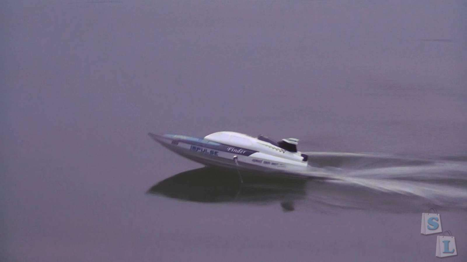 CooliCool: WLtoys WL912 2.4GHz, 2Ch High Speed Racing RC Boat with Water-cooling system (RTR)