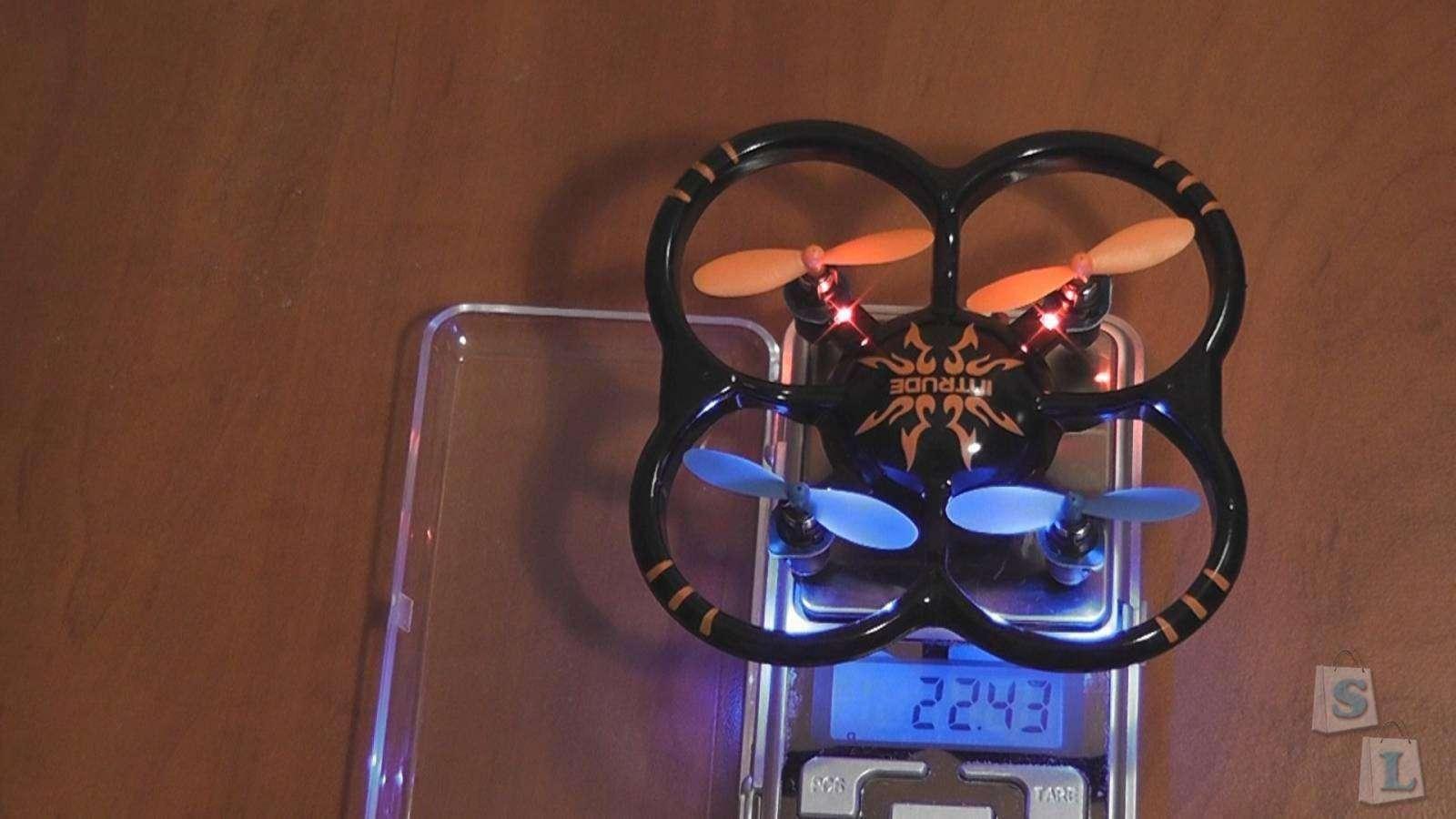 GearBest: NI HUI U207 'Intruder' 2.4GHz, 4Ch, 6 Axis Gyro, mini RC Quadcopter (RTF)