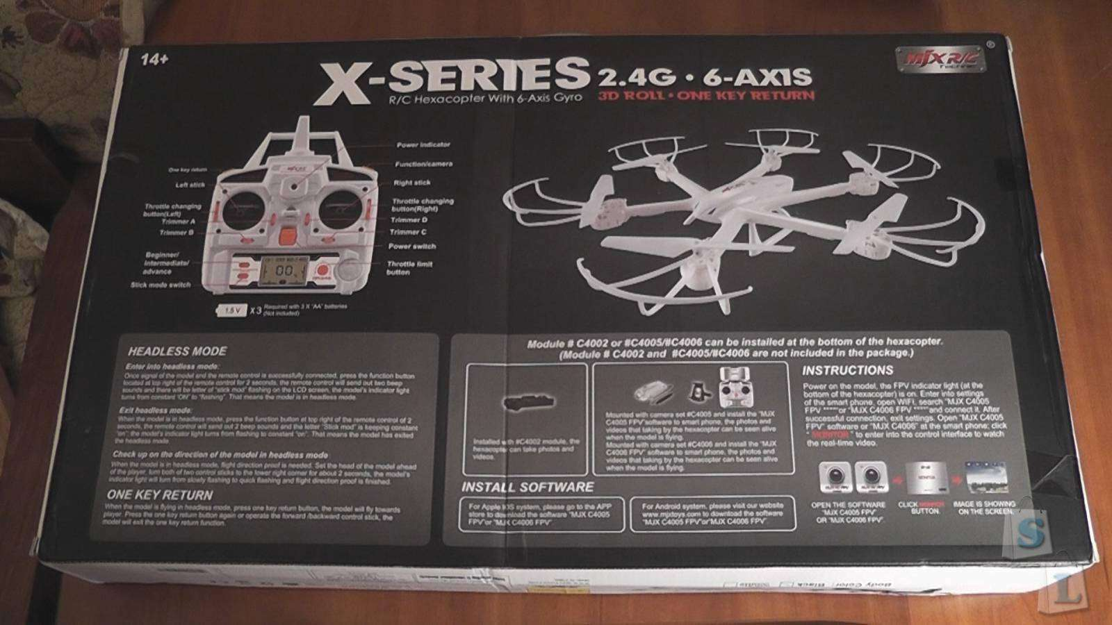 GearBest: MJX R/C X600 X-SERIES 2.4GHz, 4Ch, 6 Axis Gyro, RC Hexacopter with Headless mode, without camera (RTF)