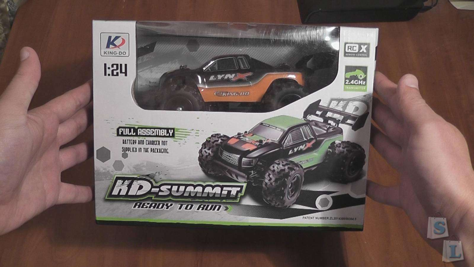 GearBest: KD-summit S600 2.4GHz, 2Ch, 4WD, Mini Truggy car (1:24) (RTR)