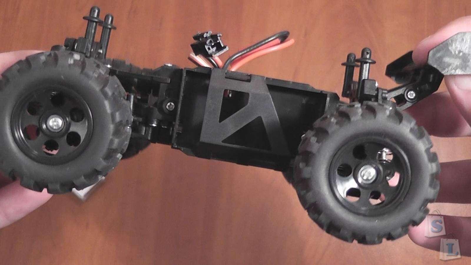 GearBest: KD-summit S600 2.4GHz, 2Ch, 4WD, Mini Truggy car (1:24) (RTR)