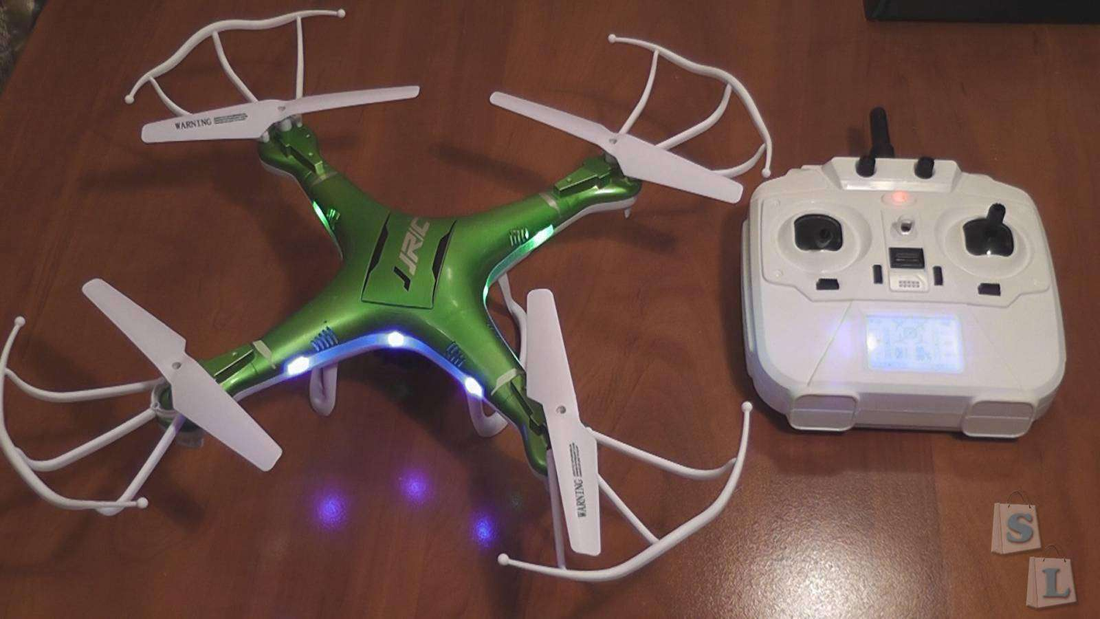 Banggood: JJRC H5P 2.4GHz, 4Ch, 6 Axis Gyro, RC Quadcopter with Headless mode and 2MP Camera (RTF) + Mobius