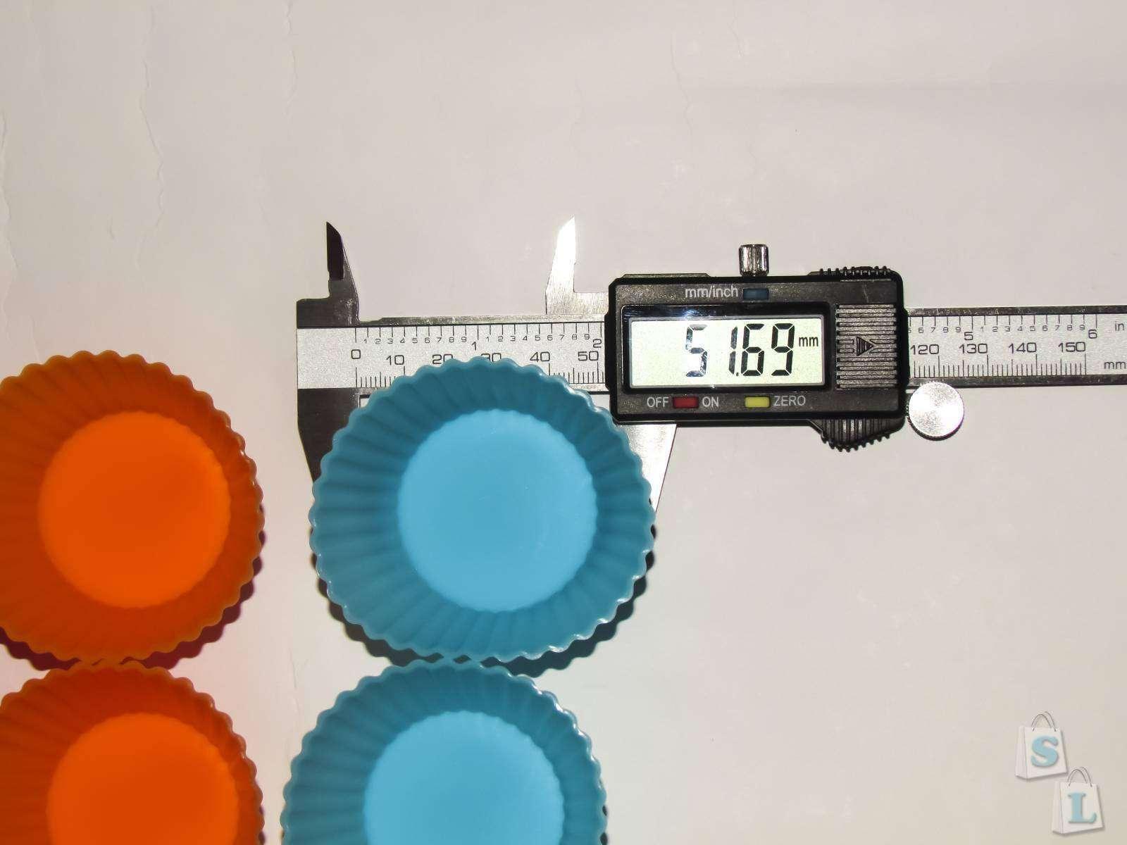 Banggood: Обзор силиконовых формочек для маффинов