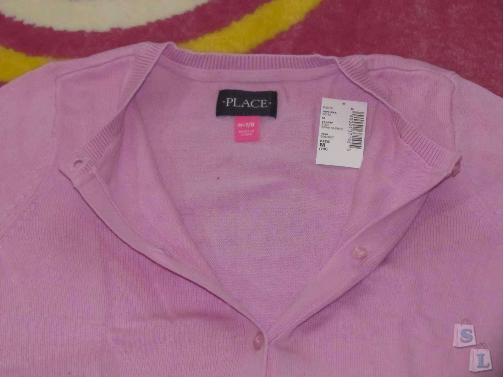 Childrens Place: Обзор розового кардигана для девочки
