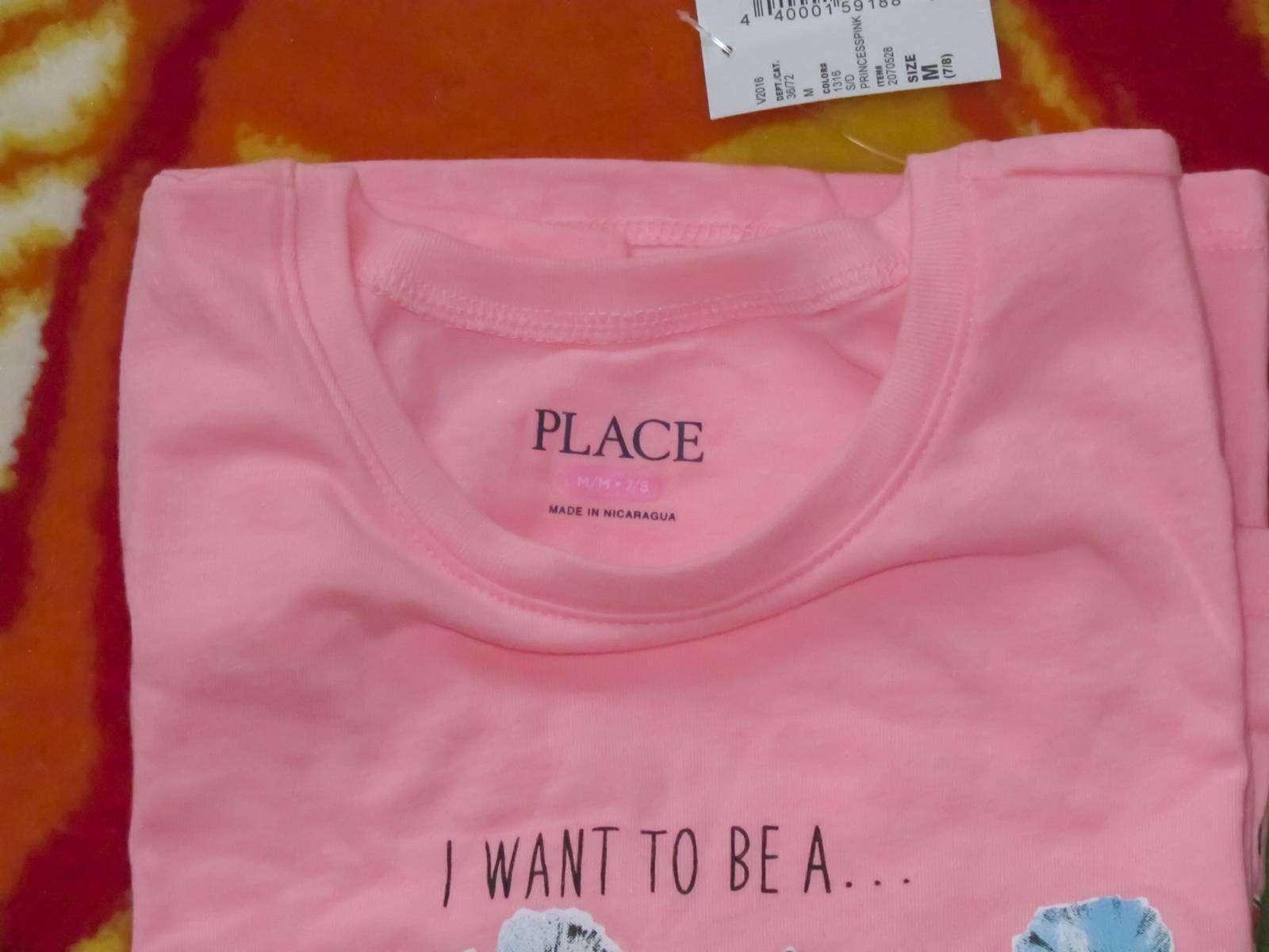 Childrens Place: Футболка с длинным рукавом для девочек - Я хочу быть...