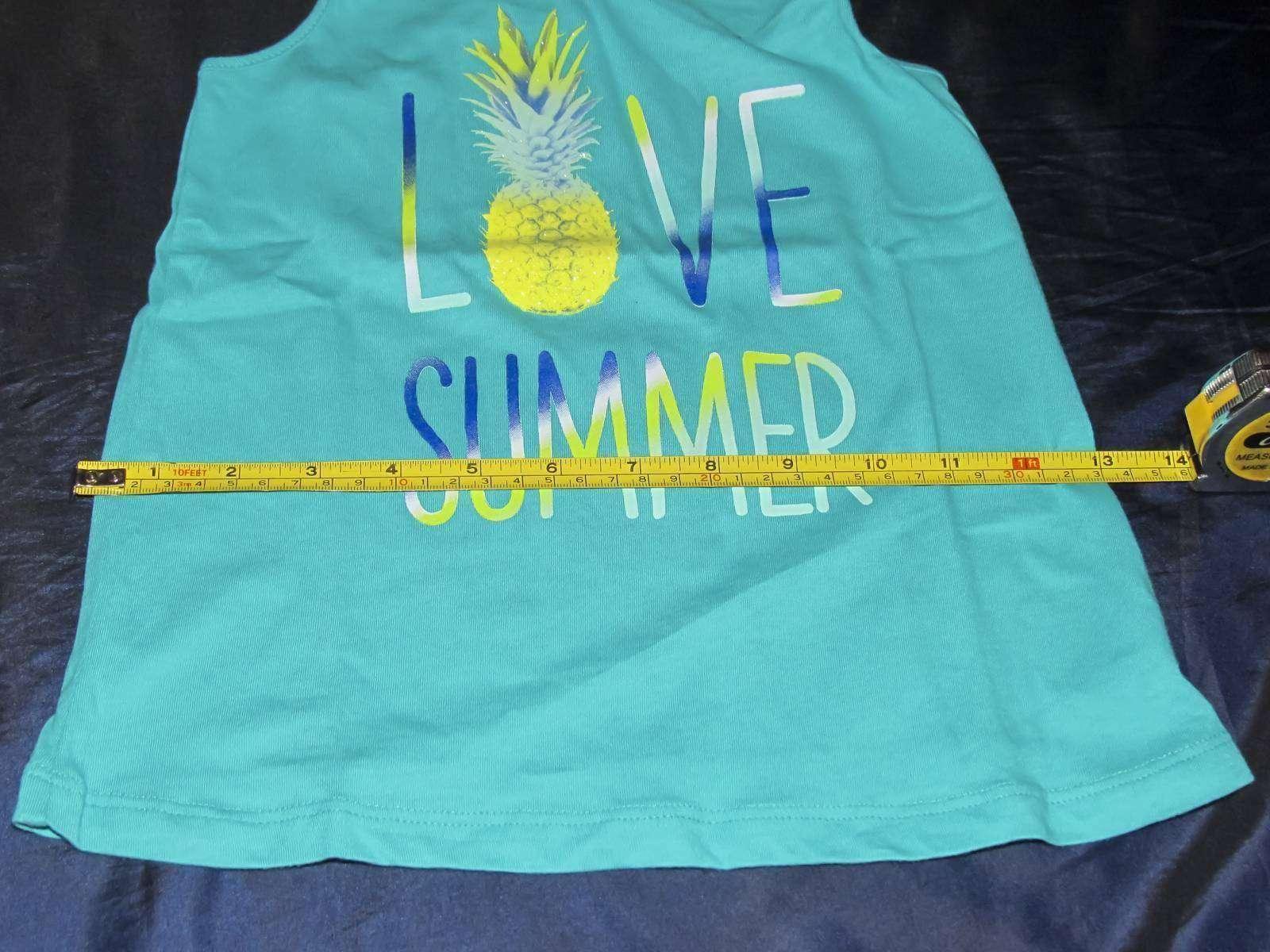 Childrens Place: Майка с ананасом - Я люблю лето! S (5/6)