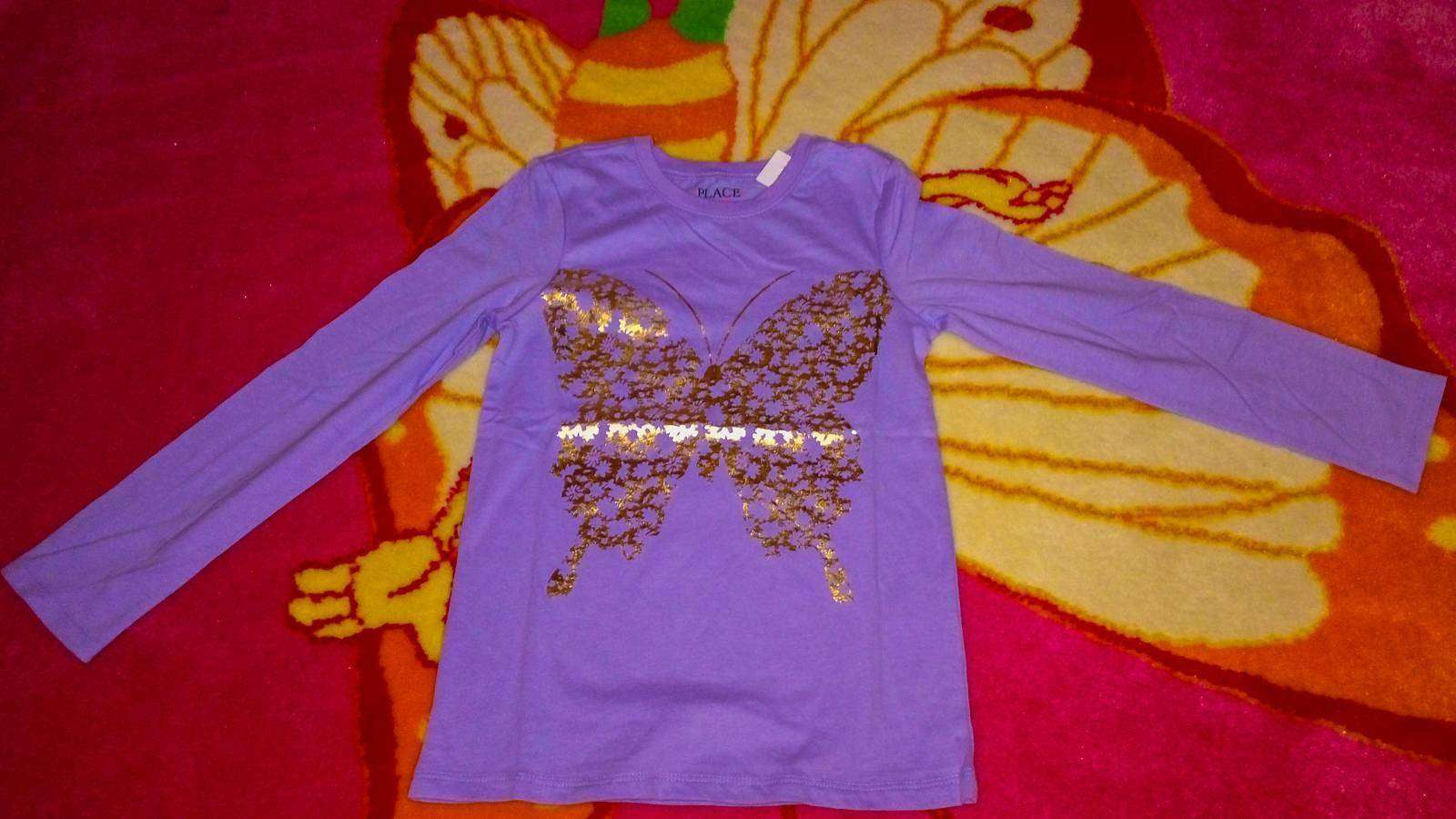 Childrens Place: Кофточка для девочки с бабочкой