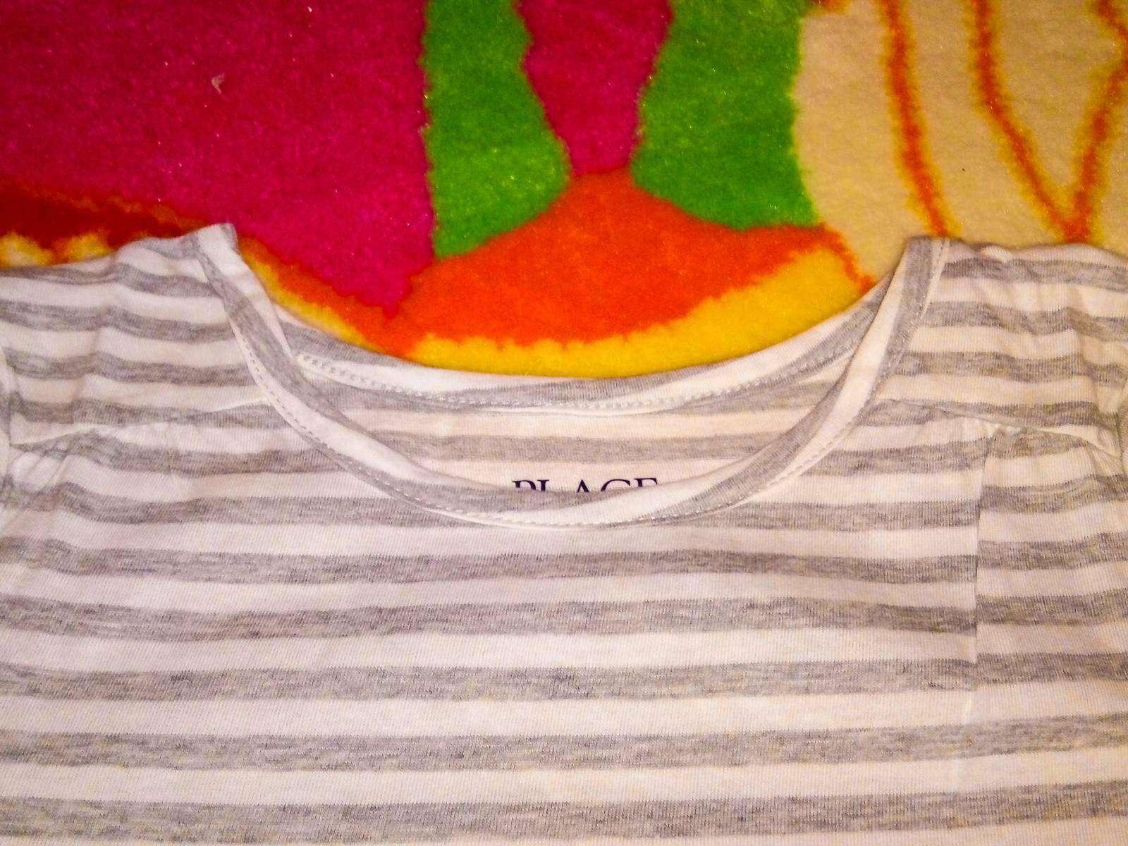 Childrens Place: Полосатая кофточка для девочки, S 5,6